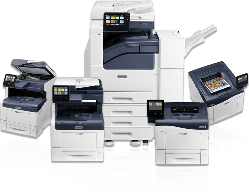 Kopimaskine og printerløsninger fra Xerox, Develop Ineo, Konica Minolta